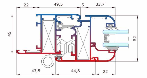 Atlantis 45 Finestre E Porte In Alluminio Architettura To Ma